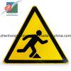 경고 교통 표지 노란 고속도로 알루미늄 격판덮개 도로 표지