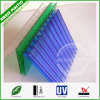 UV Protected Two-Wall Hollow Polycarbonate Sheets for Greenhouse & Canopy Roofing