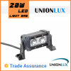 20W diodo emissor de luz Offroad Light Bar, 12V diodo emissor de luz Light Bar