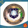 Moedas Zinc-Alloy da concessão da força aérea dos EUA do esmalte (JN-0124)