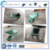 Carriola di plastica resistente del vassoio di alta qualità (WB6301) per il lavoro del giardino