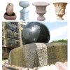 Bal Lmarble van de tuin de Fontein van het Water van de Steen van het Graniet
