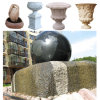 Jardin Ball Water Fountain pour Stone Marble Granite