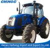 Tractores de granja de cuatro ruedas grandes de la tracción 145HP