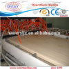 Cadena de producción hueco plástica de la protuberancia del panel de la puerta del PVC WPC