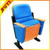 Da audiência de aço da leitura do melhoramento dos pés da tampa de tela da prova de fogo do fornecedor de China cadeira dobrável do auditório do espaldar