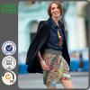 2016 повелительниц способа миниых напечатали задрапированную юбку