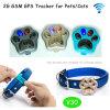 O perseguidor impermeável pequeno o mais popular do GPS para gatos/cães com colar ajustável (V30)