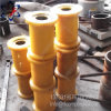 Rullo materiale della protezione del poliuretano con più alta resistenza all'usura
