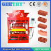 Máquina de fatura de tijolo automática cheia da argila da terra de Eco Mater 7000plus