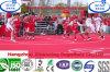El solar de los deportes de la resbalón que se enclavija del baloncesto de la estera anti del piso