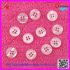 Кнопка рубашки смолаы 4-Hole Whiite (XDJZ-005)