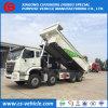건축 낭비 쓰레기꾼 팁 주는 사람 트럭 45tons 덤프 트럭