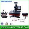 Precio barato 4 en 1 máquina combinada de la prensa del calor