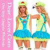 Costume superbe vert de robe de plombier de Mario