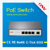 IP Camera (POE31004P)のためのよいPerformance 4 Port Poe Switch