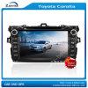 Coche audio para la pulgada HD de Toyota Corolla 8 con el cuadro del Rds del iPod del GPS Bluetooth Fm en el cuadro (z-2955)