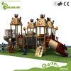 Niños juegos al aire libre Equipo, Zona de juegos de madera para niños