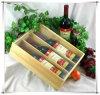 Dozen van de Wijn van Paulownia de Houten met AcrylDeksel voor Wijn en Drank