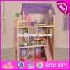 호화스러운 새로운 디자인 아이들 및 매력적인 장난감 선물 나무로 되는 현대 인형의 집 W06A223
