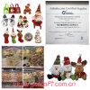 Santa, pupazzo di neve, renna, angelo, regalo promozionale di natale del pinguino
