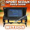 De Auto DVD van Witson voor de Sedan van de Sport van Mazda (W2-D796M)