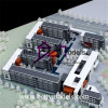 Модель Maker_Concept средней школы архитектурноакустическая модельная (BM-0077)