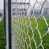 Cerco da ligação Chain da cerca da terra de esportes do revestimento plástico