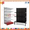 La fabbrica ha personalizzato la singola scaffalatura d'acciaio laterale della visualizzazione del supermercato (Zhs553)