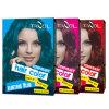 cor provisória do cabelo do uso da casa 7g*2 com violeta