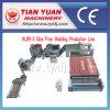 Chaîne de production non-tissée de remplissage de fibre de polyester (WJM-3)