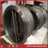 Tipo duplo válvula da bolacha da placa de verificação do balanço (H76)