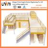Plataforma rápida de la estructura de acero de la instalación