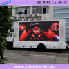 P6 Outdoor Full Color Truck Display LED para alugar (CE)