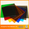 Colorear el panel de acrílico plástico del acrílico del plexiglás de la hoja PMMA
