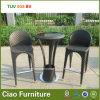 Tableau et présidence en osier de barre de rotin de patio synthétique élégant de meubles