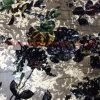 Printed e Burn out traseiros Discharge Printed Silk Velvet