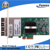 Femrice 1000Mbps Quad Port Gigabit Ethernet PCI Express X4 Server Adapter、4 Ports SFP X4 Lane LAN Card