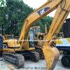 Máquina escavadora usada do gato 320b, máquina escavadora