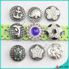 新式の金属は魅力ボタンの宝石類を止める