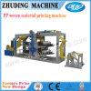De automatische pp Geweven Machine van de Druk van de Zak van de Rol pp Geweven