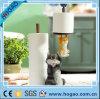 Cat Tissue Paper Holder de Lovely da resina para Toilet em casa