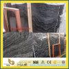 Onda de prata/floresta preta /Zebra mármore preto/de prata de /Kenya preto do dragão (yys)