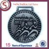 Изготовленный на заказ Cut медальон вне Antique Silver Finish