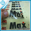 Alto Adheive Transparent Vinyl Sticker con Your Logo