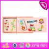 Горячий новый продукт для Kids 2015 Wooden Domino Set, Children Domino в Wooden Box, Wooden Domino Game Set с ценой по прейскуранту завода-изготовителя W15A016