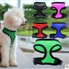 Harnais réglable d'animal familier d'animal familier de chien de fil en gros de harnais