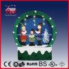 2016 de Sneeuwende Decoratie van Kerstmis met kader-Gesteund en textiel-Verfraaid