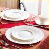 5 [بكس] أبيض خزي عشاء مجموعة يزيّن بقع مجفّفة