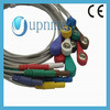 Holter One Piece 7-Lead ECG Cable con Leadwires